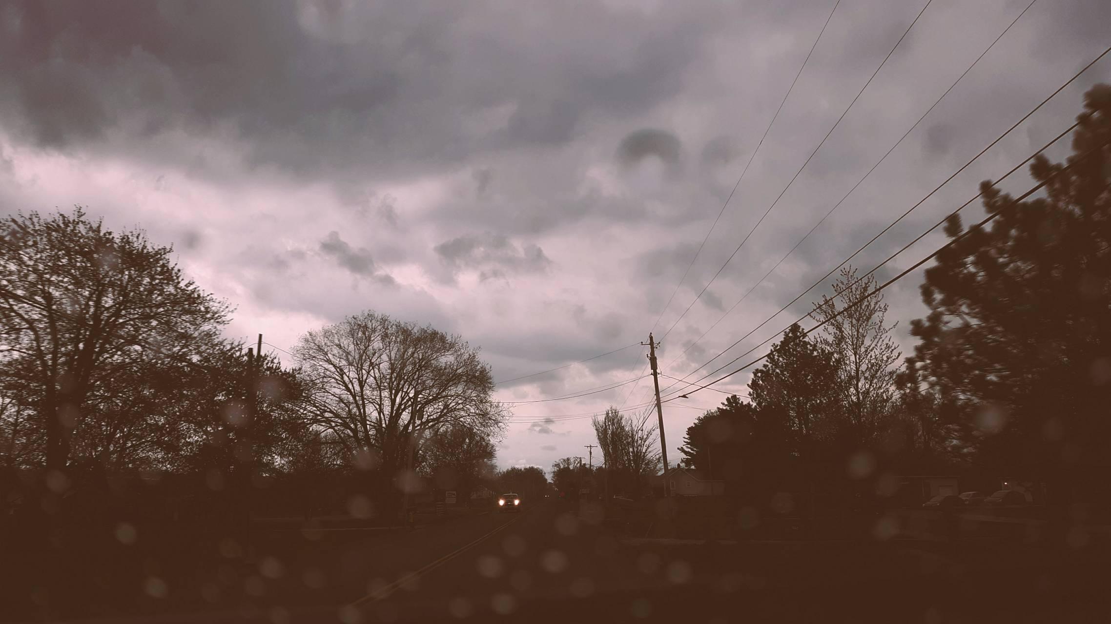 Rainy Headlights