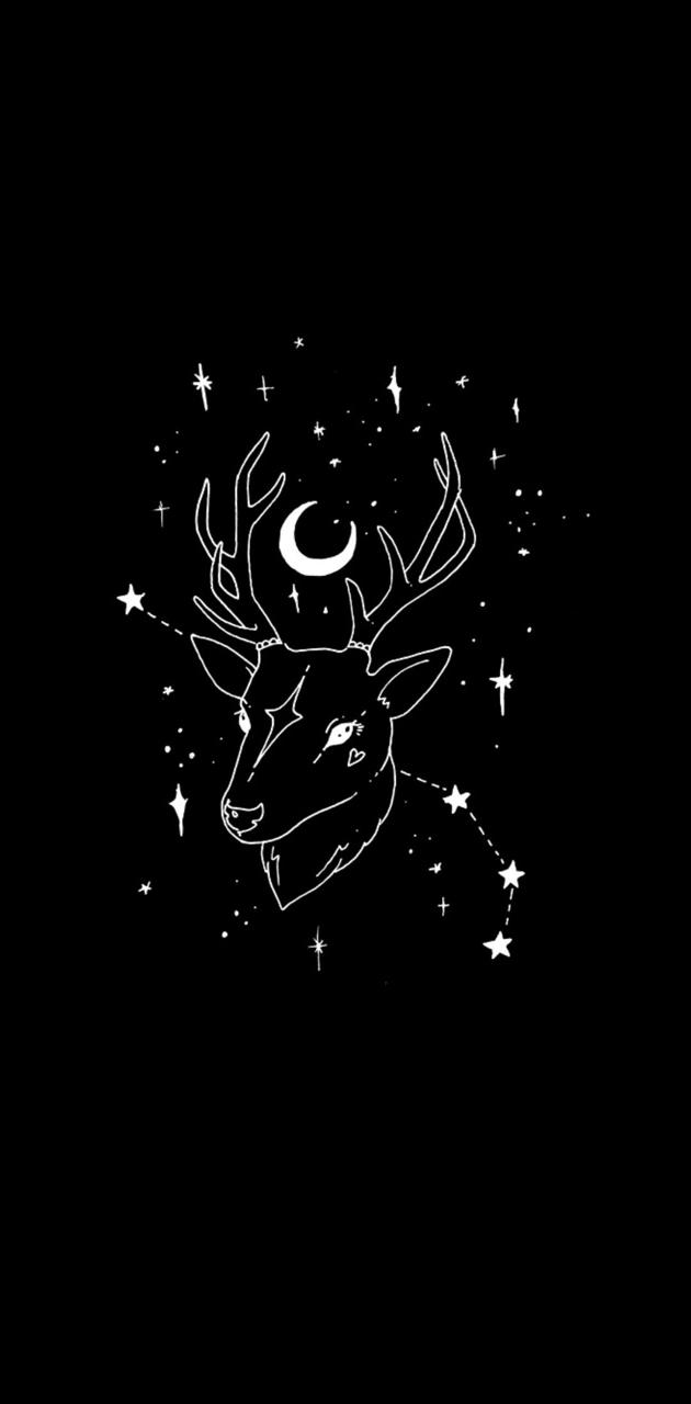 Wiccan deer
