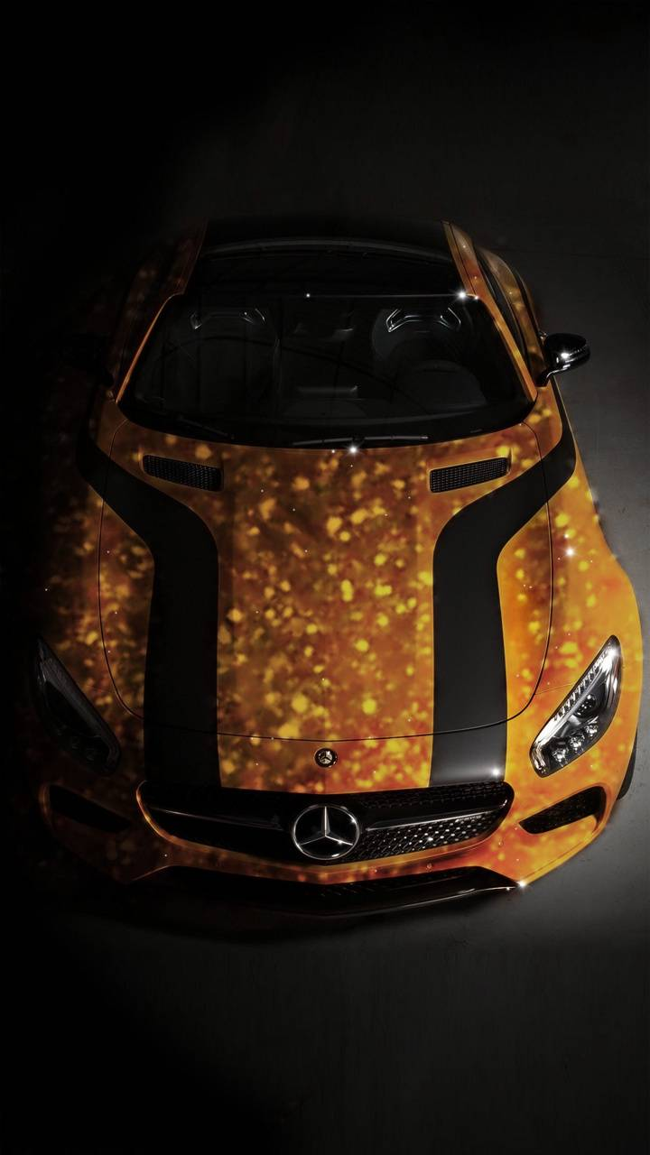 Golden Mercedes