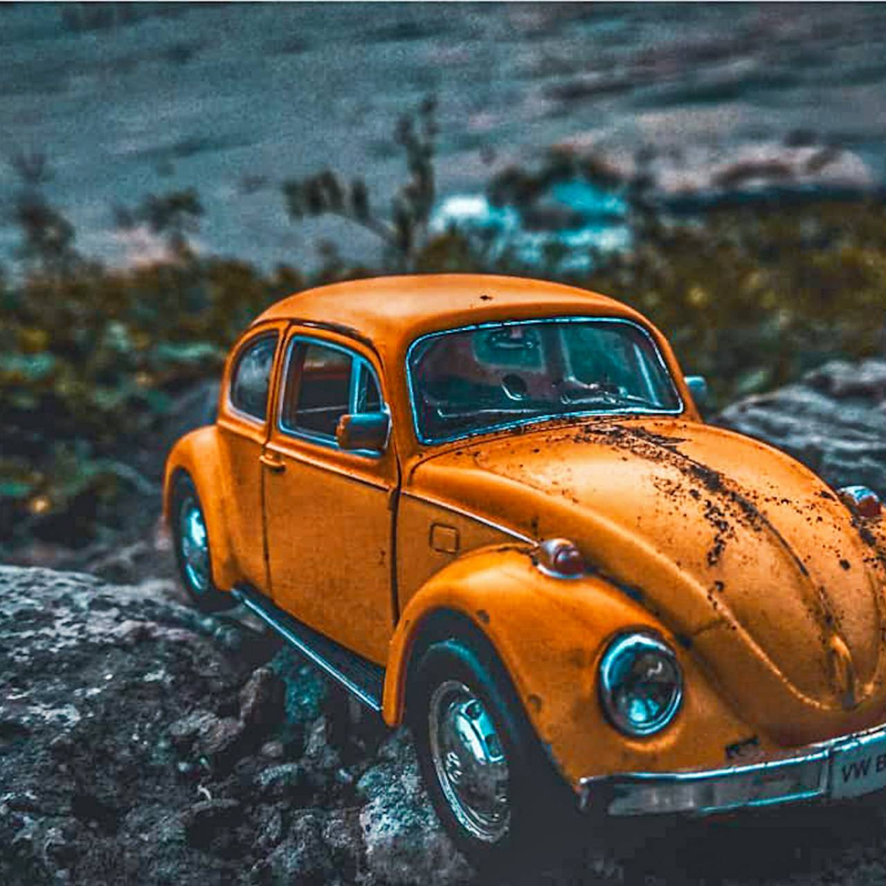 Retro miniature car