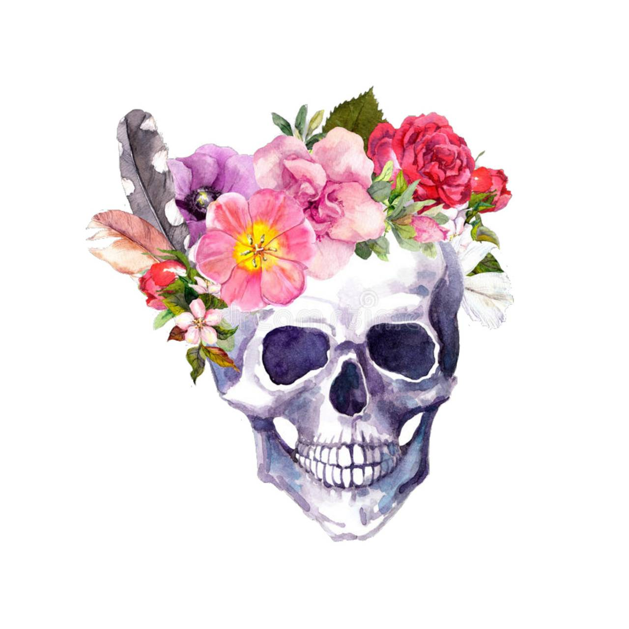 Flower Skull Wallpaper By Minniemouse 67 Free On Zedge