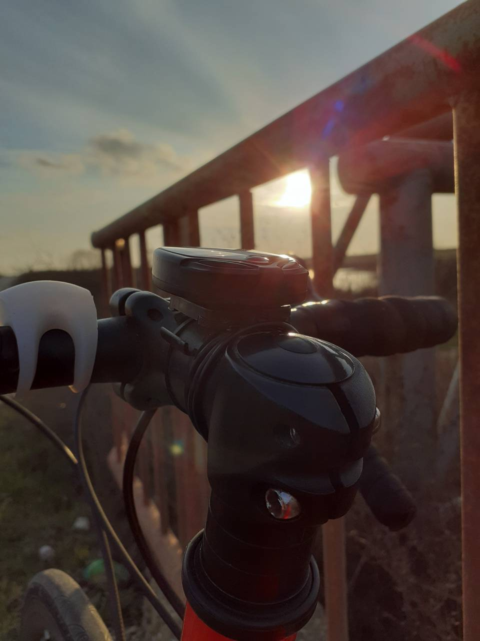 Bike Sunset