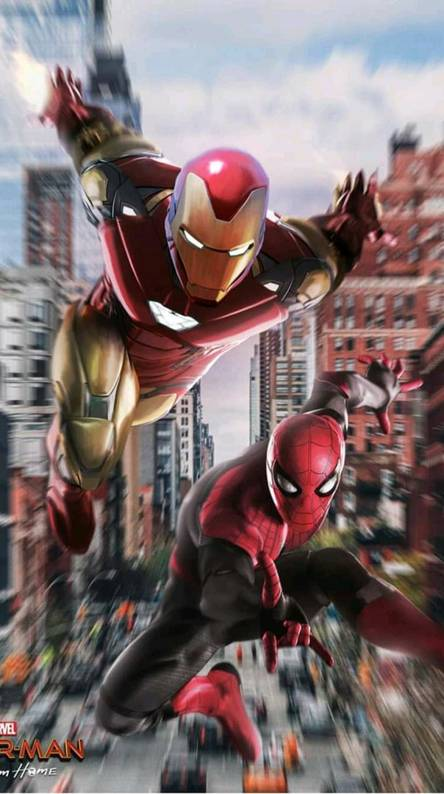 Spiderman And Ironman Wallpapers Free By Zedge