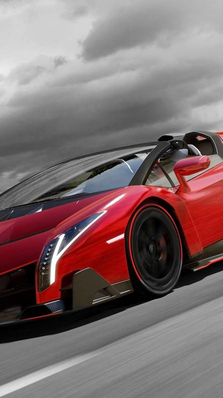 red veneno roadster