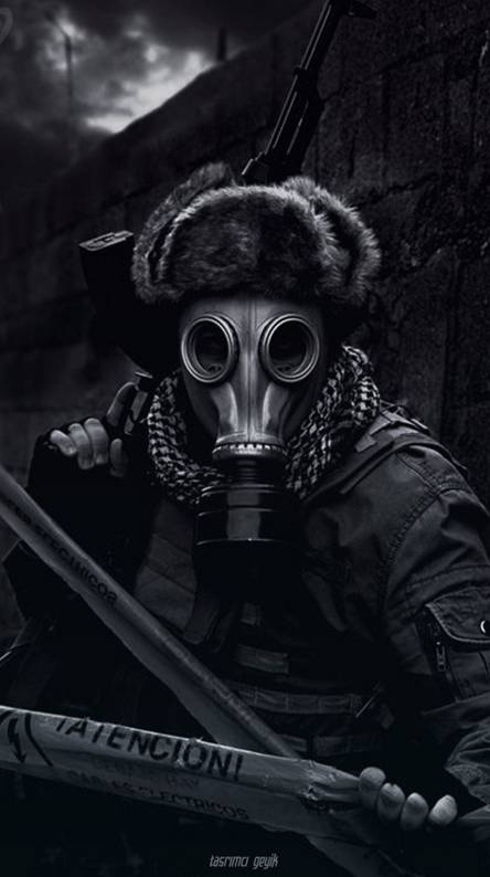 Gas Mask Wallpapers Free By Zedge