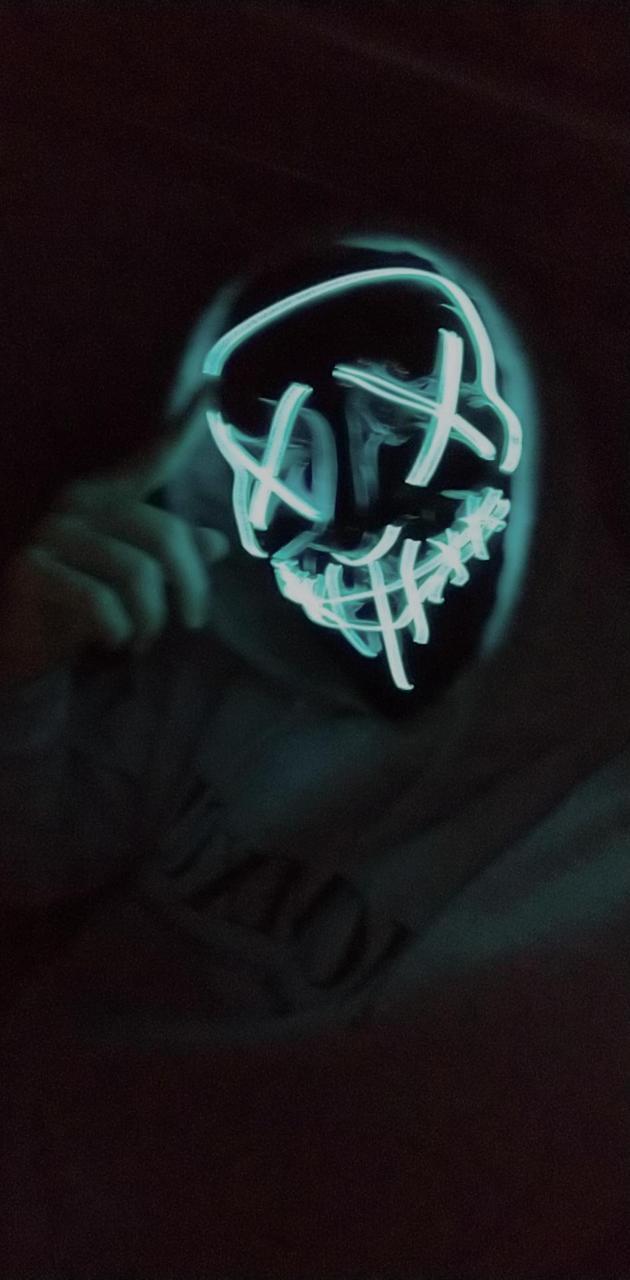 Mascara de luces