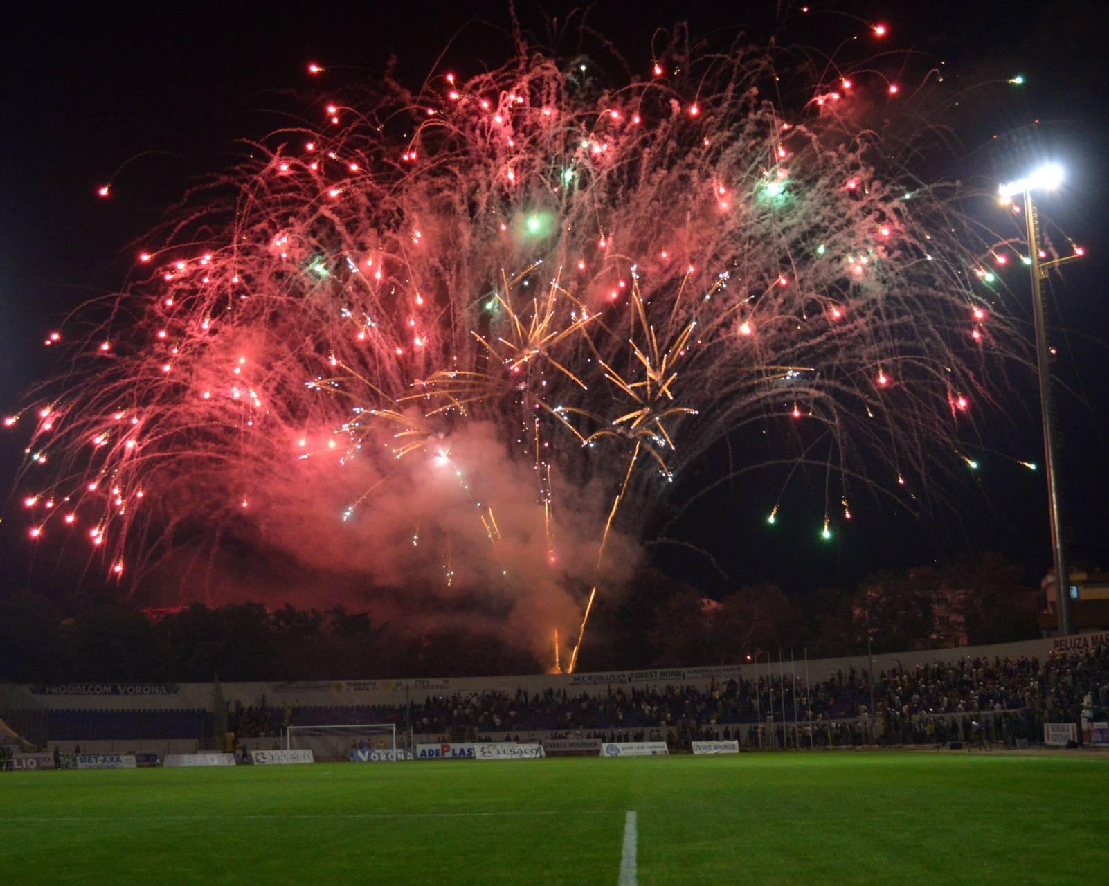 Artificii stadion BT