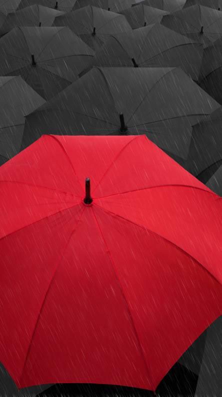 Red Umbrella Wallpapers
