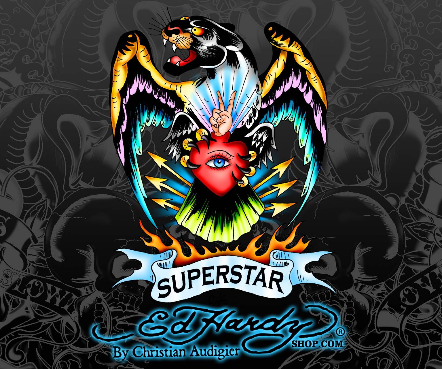 ED HARDY HD Wallpaper By Flaks69