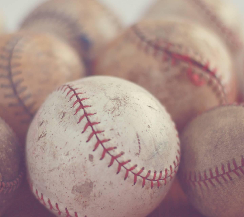Old Worn Baseballs