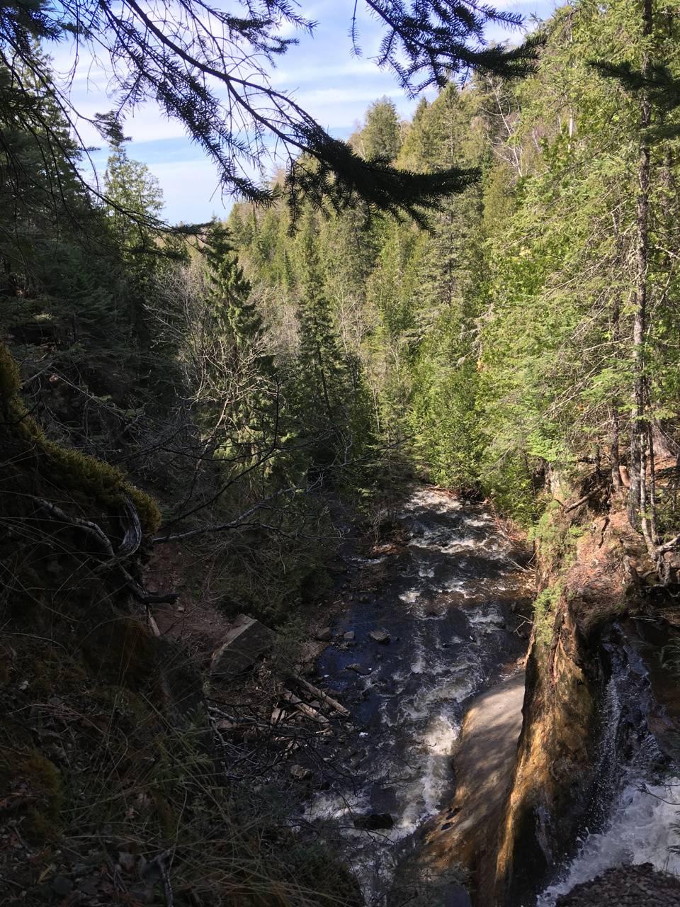 Waterfall sights