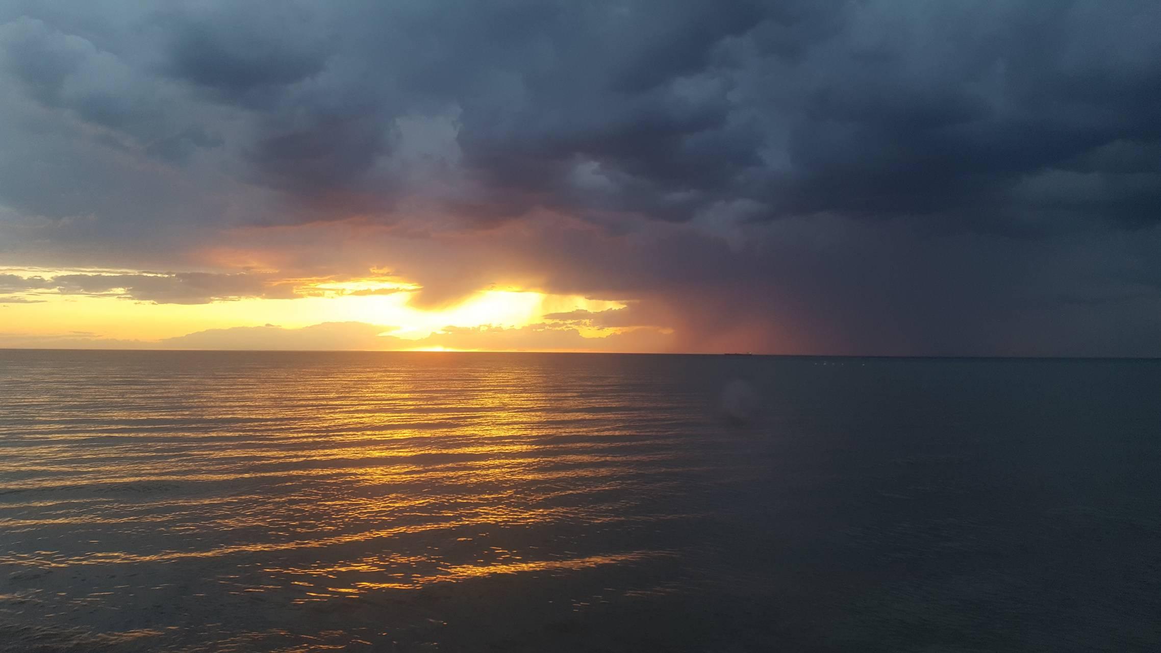 Light after storm