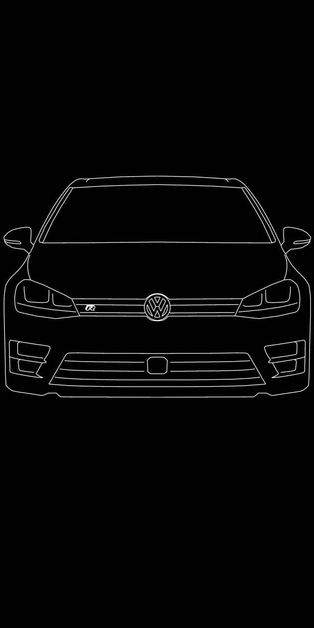 VW Golf R AMOLED