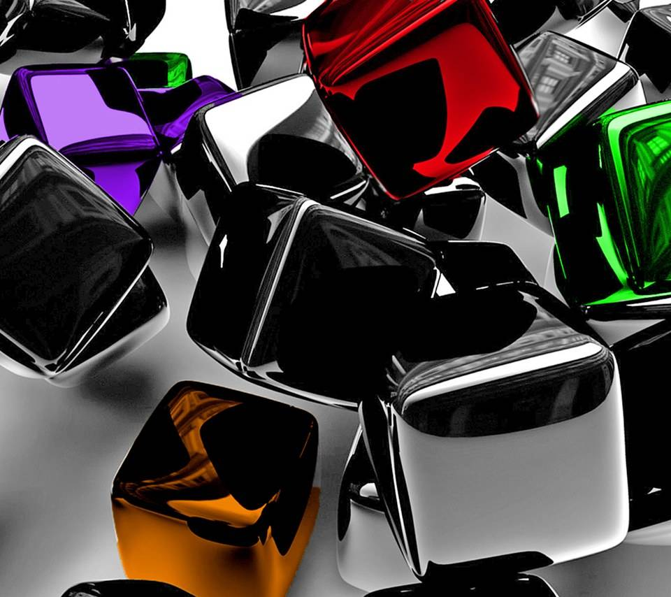 Coloured Cubes