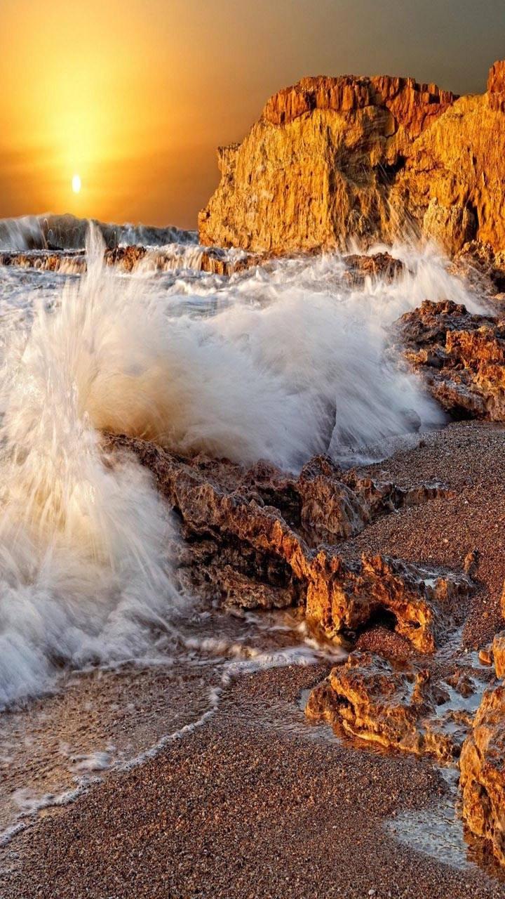 Sea Waves Splashes