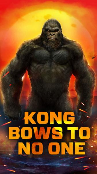 kong bows to no one