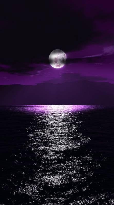 moon purple