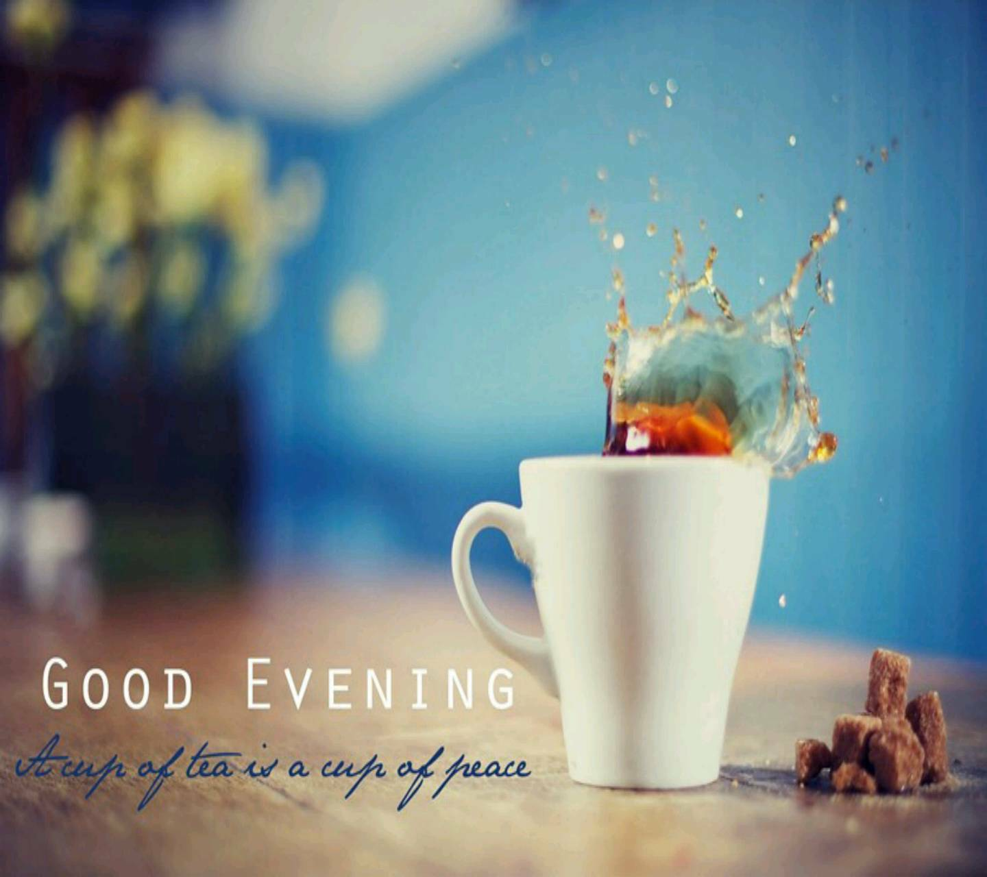 Good Evening Tea Hd Wallpaper By Angelsehar 3d Free On Zedge