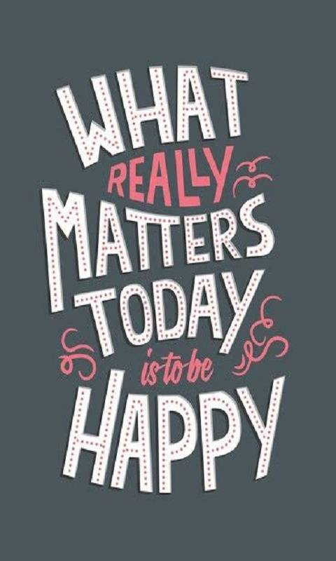 Matters To Day