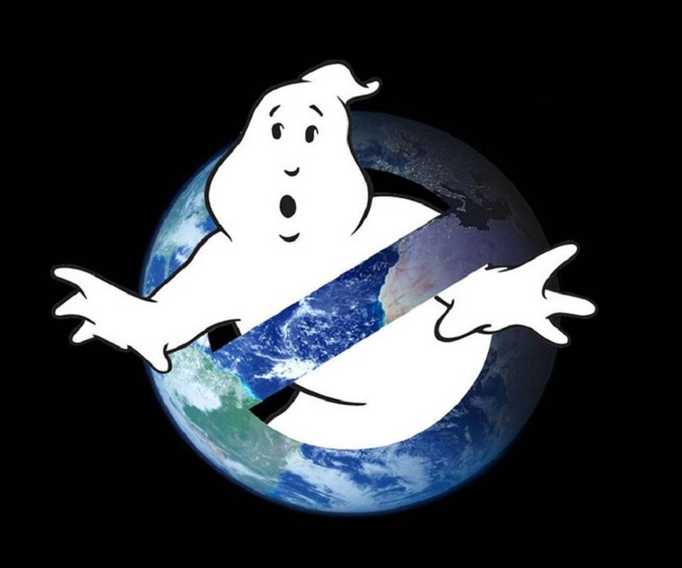 No Ghost Logo World