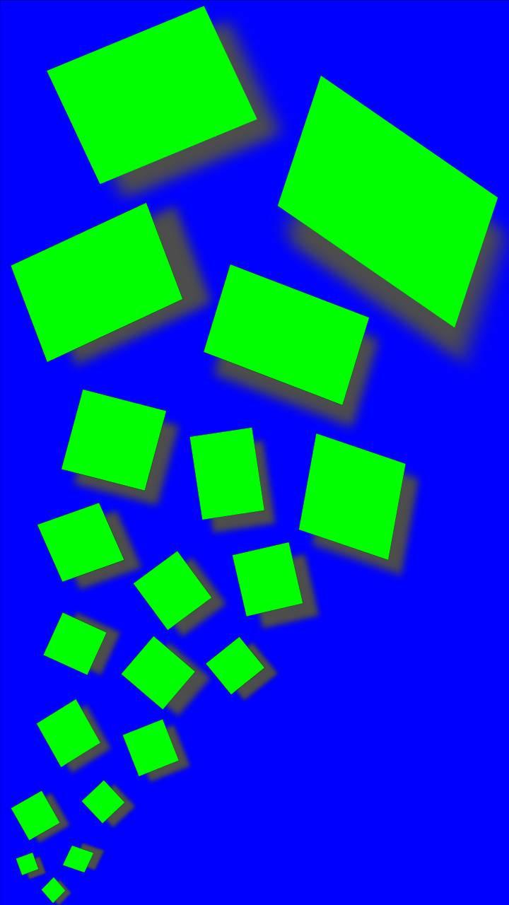 quadrati verdi