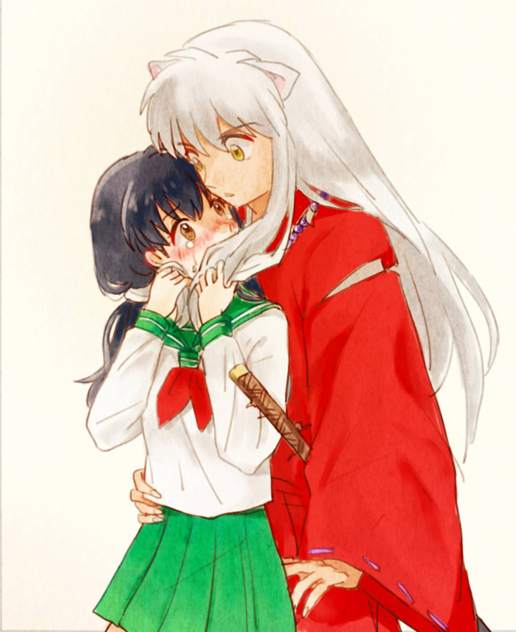 Inuyasha And Kagome Wallpaper By Mrsinfernalbane De Free On Zedge