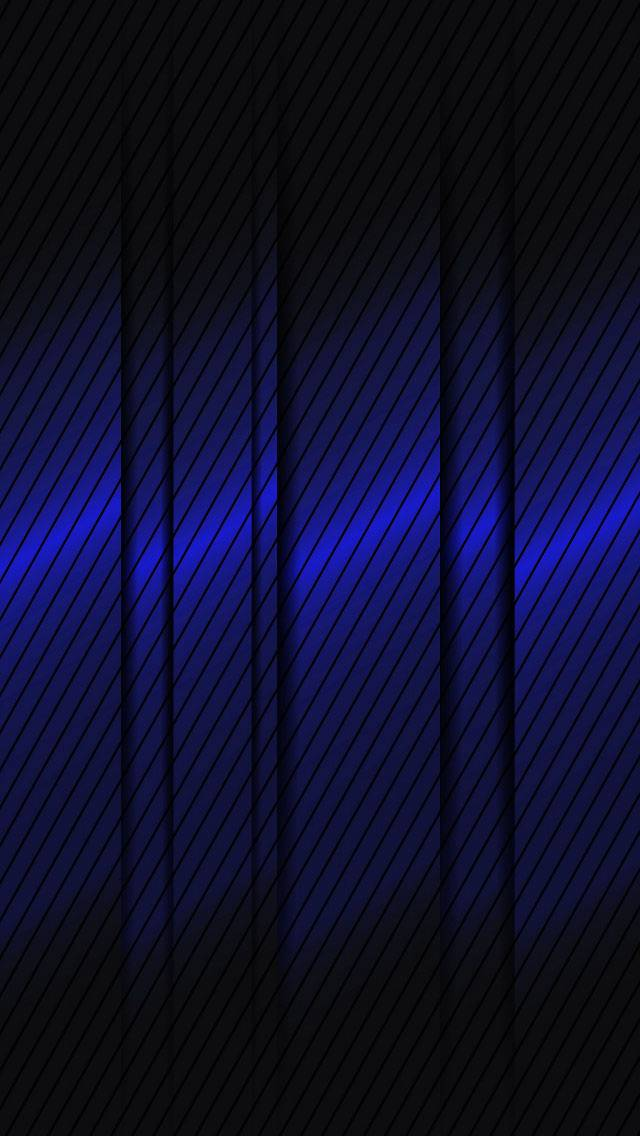 Blue  Metal Design