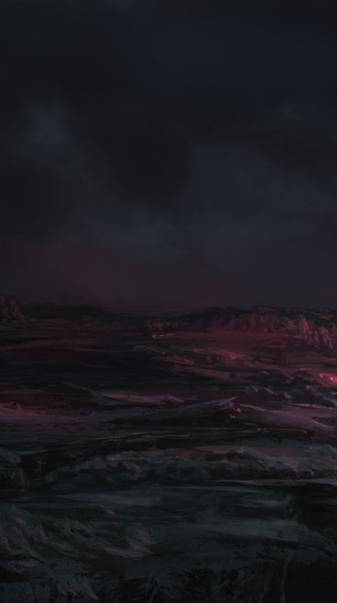 4k Abstract Volcano