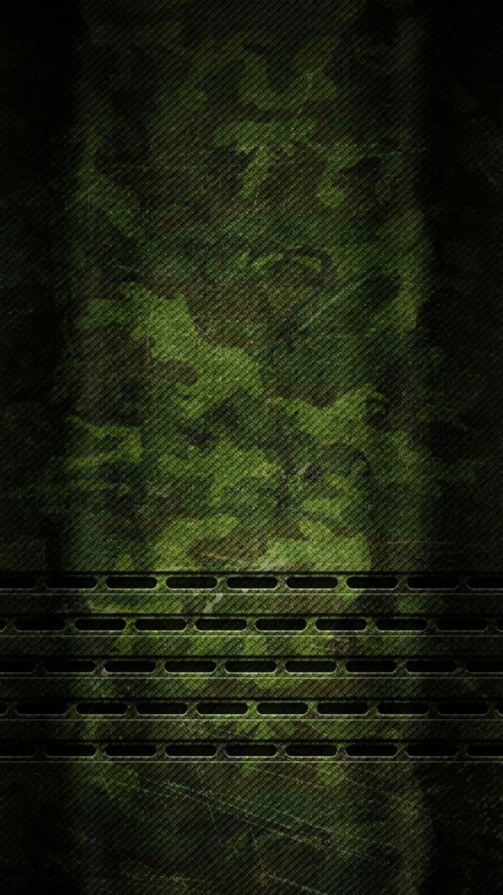 Green camo plate