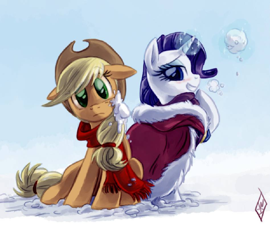 Rarity Snowball