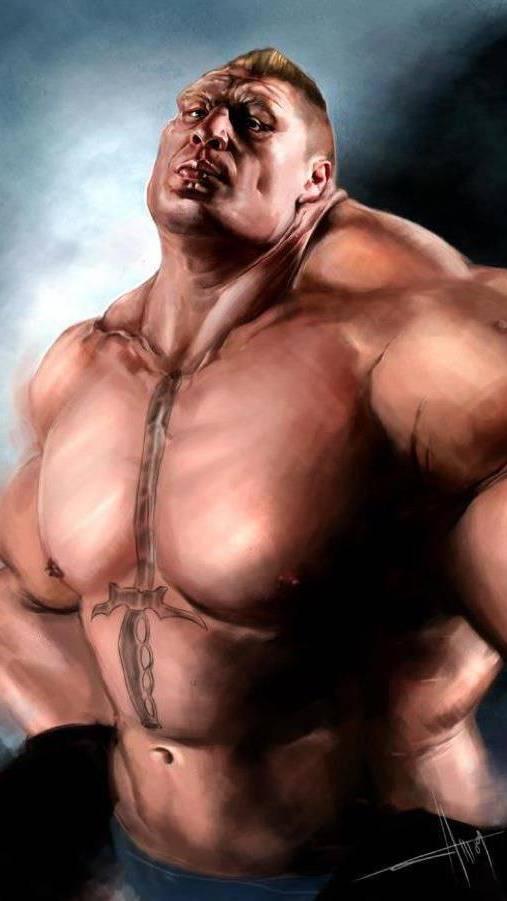 Brock Lesnar Giant