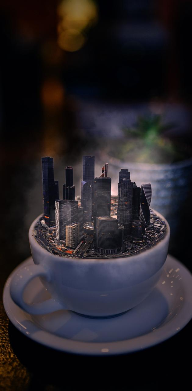 Coffee and city