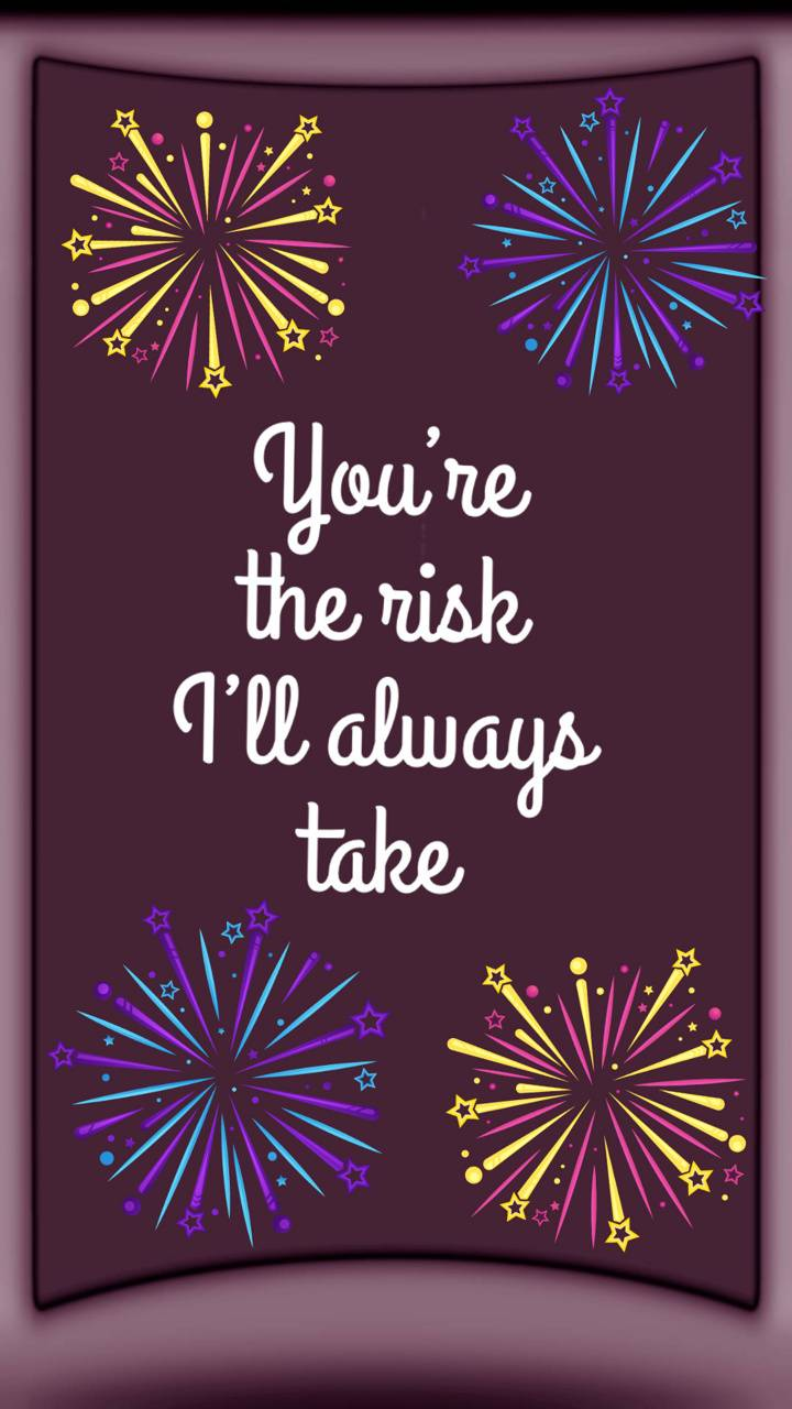 YOUR MY RISK