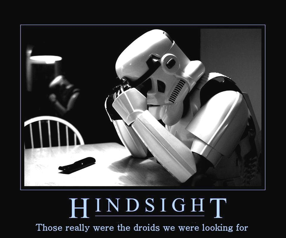 They Were The Droids