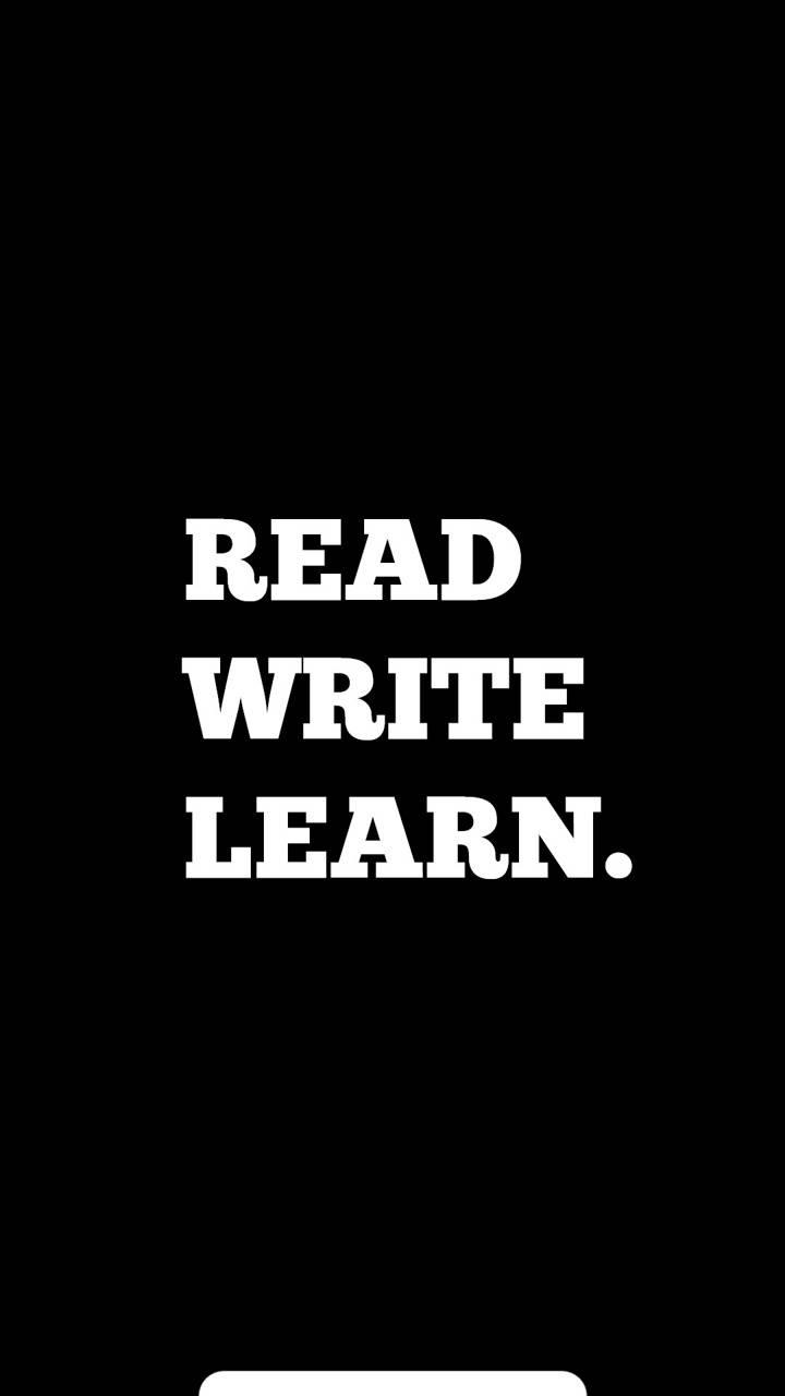 Read write learn