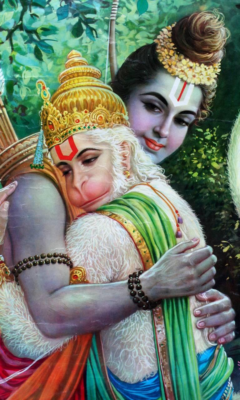 Ram-Hanuman