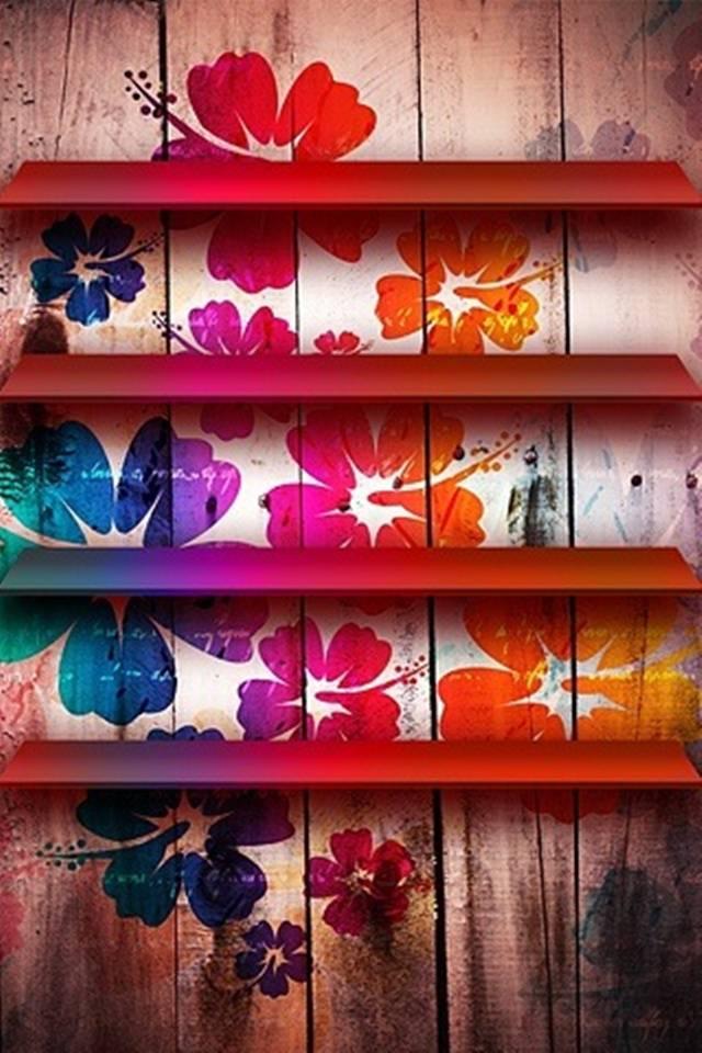 Flowers Shelf