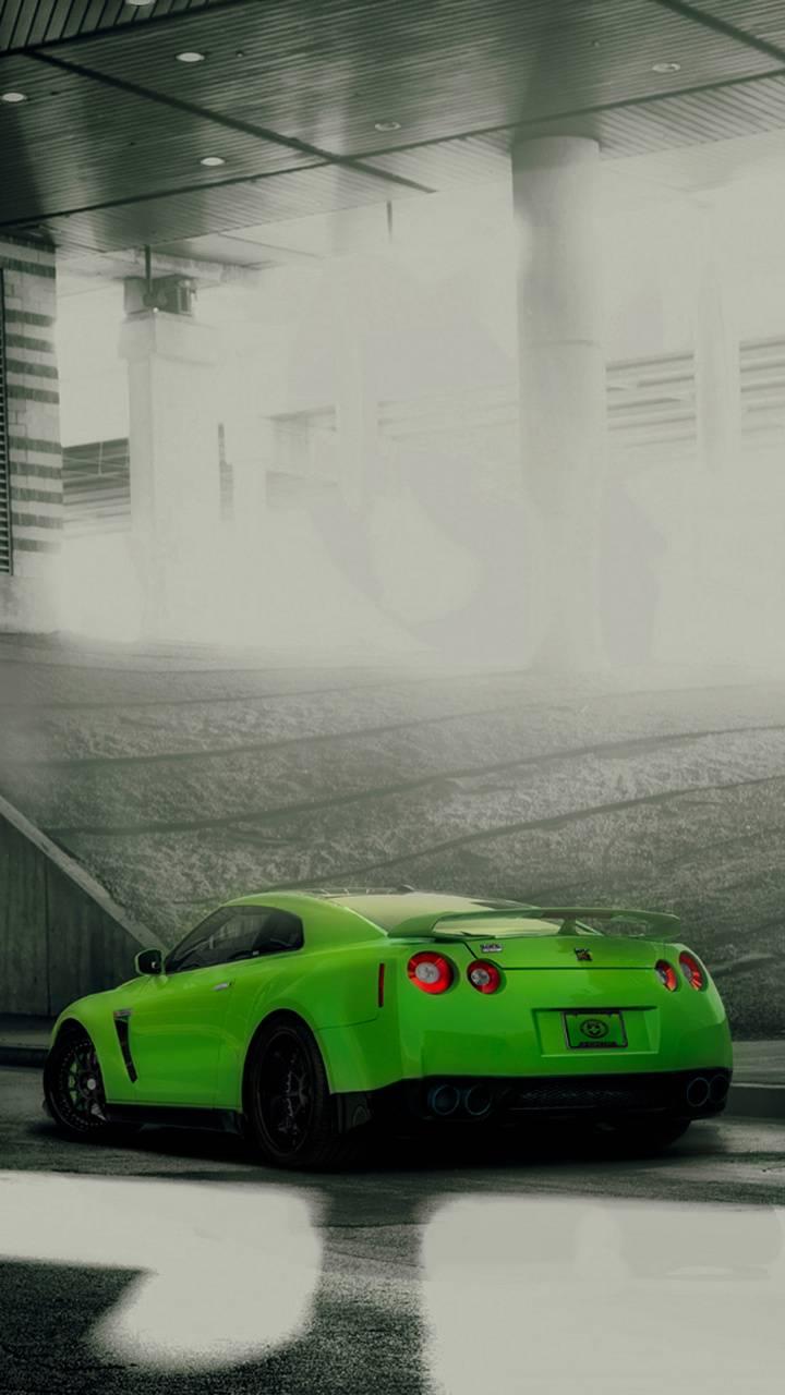 Green GT-R
