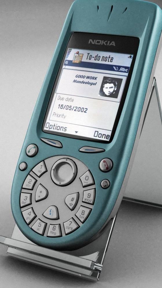 Nokia 3650 3d Render