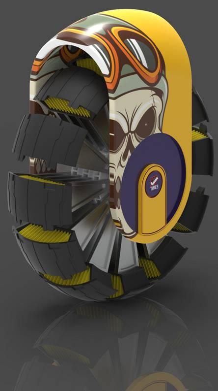 sporty tire