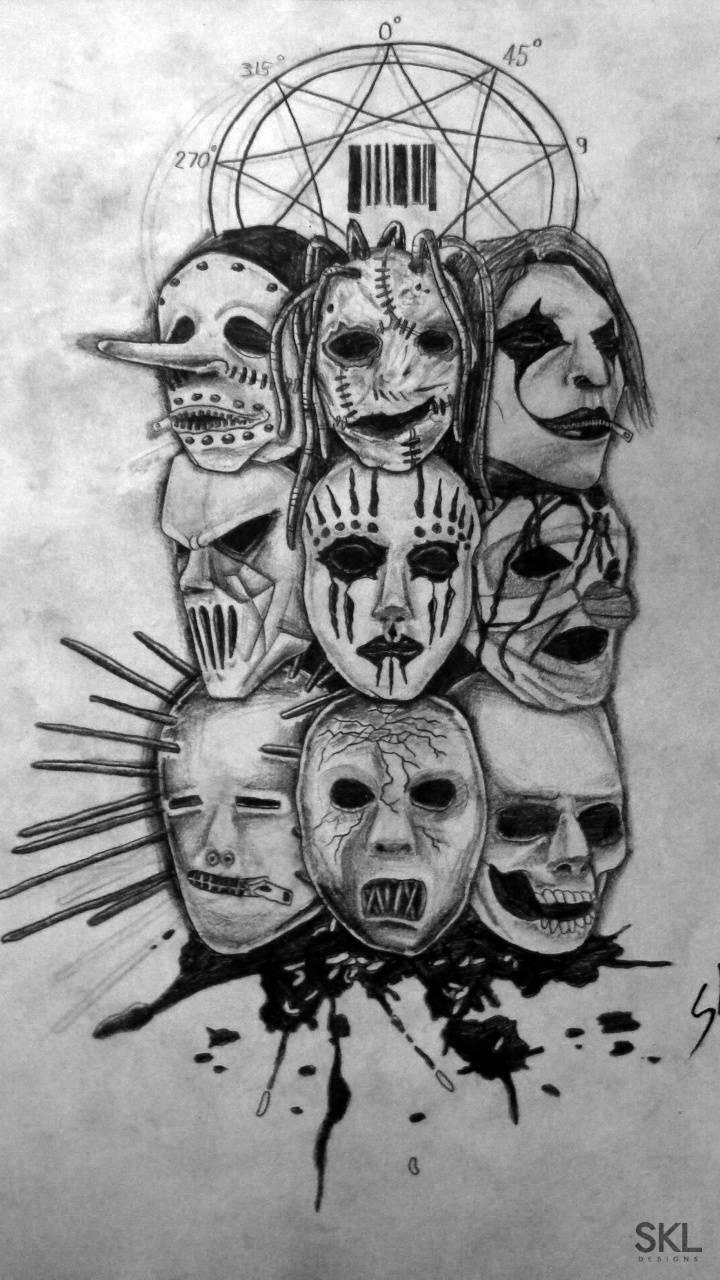 Slipknot drawing