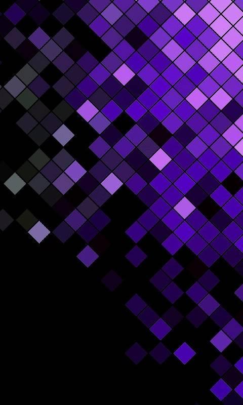 Purple Mosiac Blocks