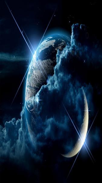 world blue cloud
