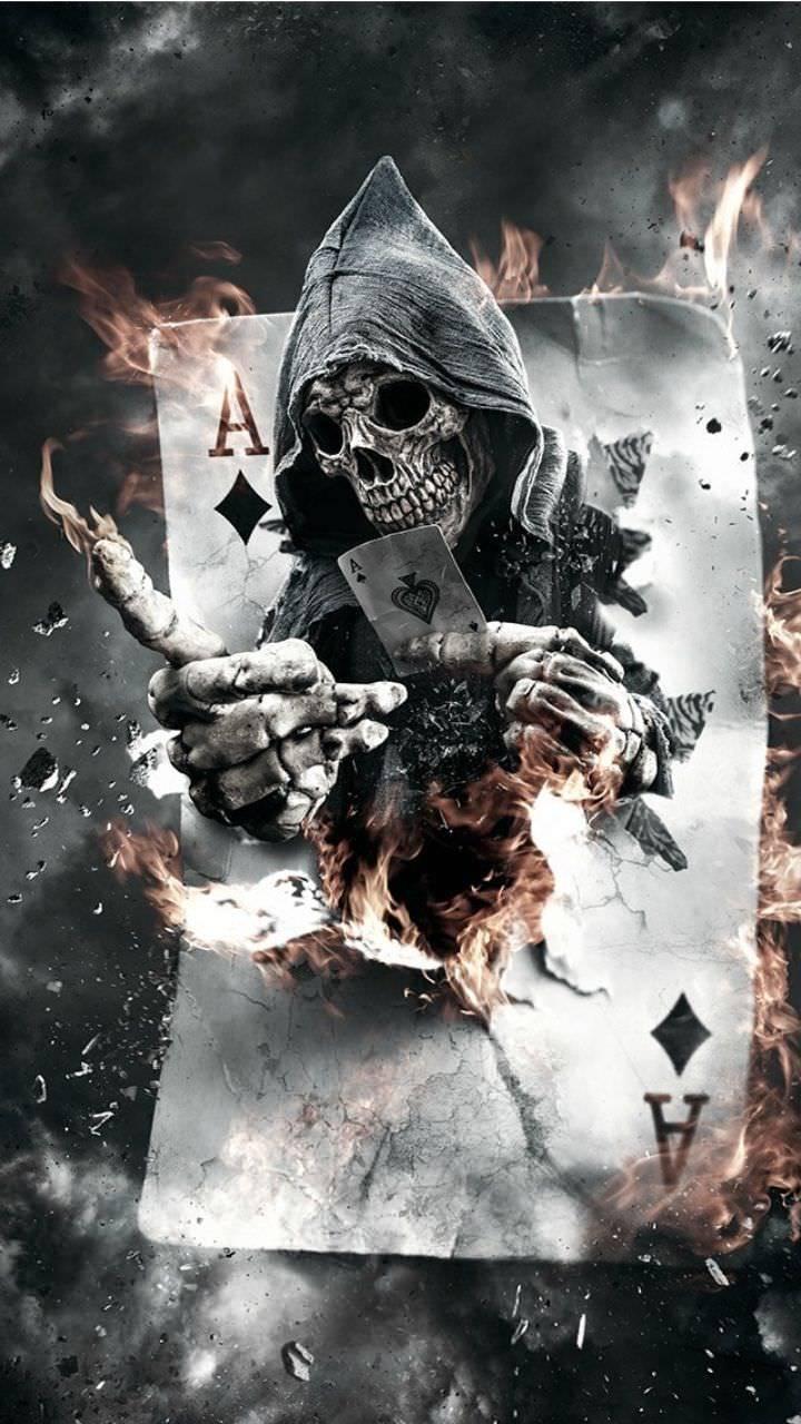 Skull wallpaper 6