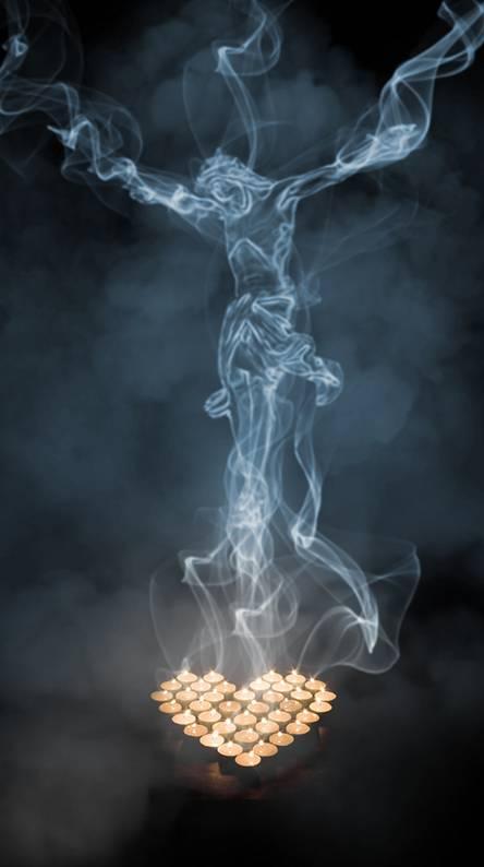 Jesus in Smoke
