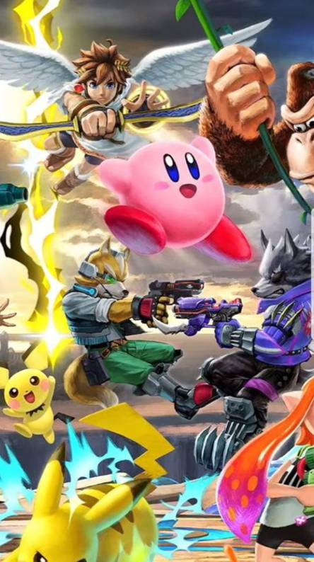 Super Smash Bros Ultimate Ringtones And Wallpapers Free By Zedge