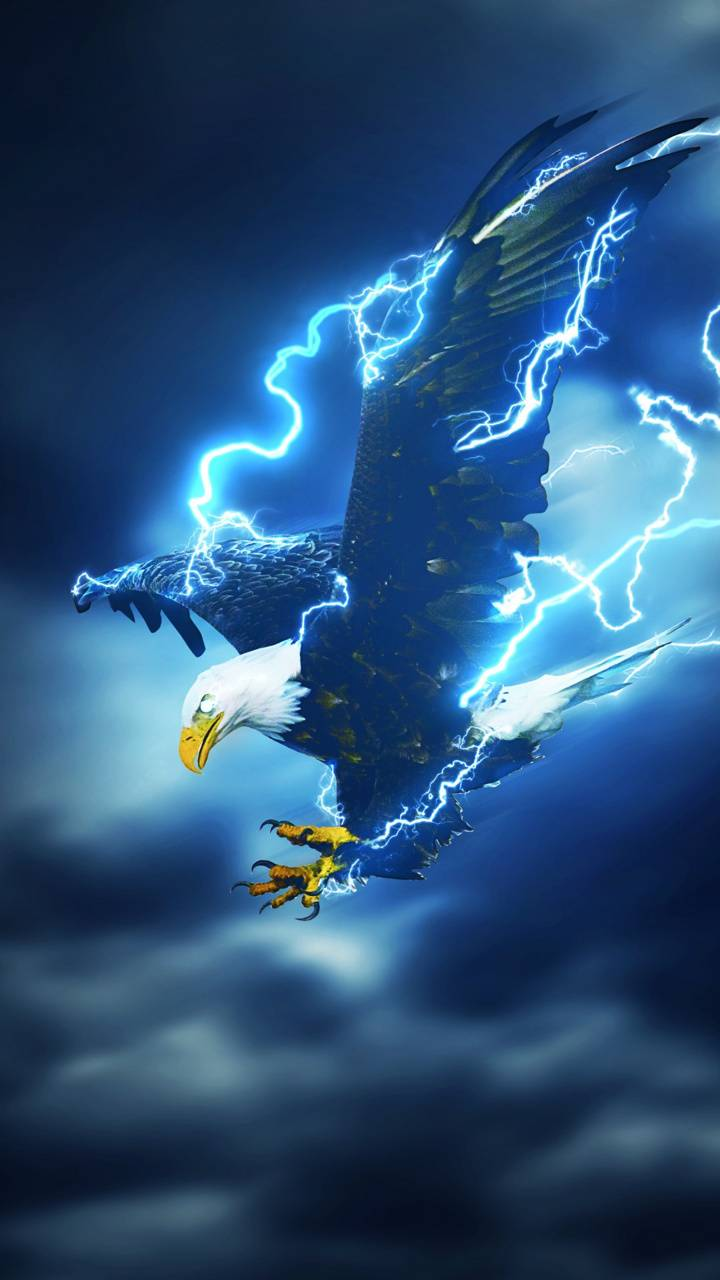 Lightning Eagle Wallpaper By Skyeeagle6 C7 Free On Zedge