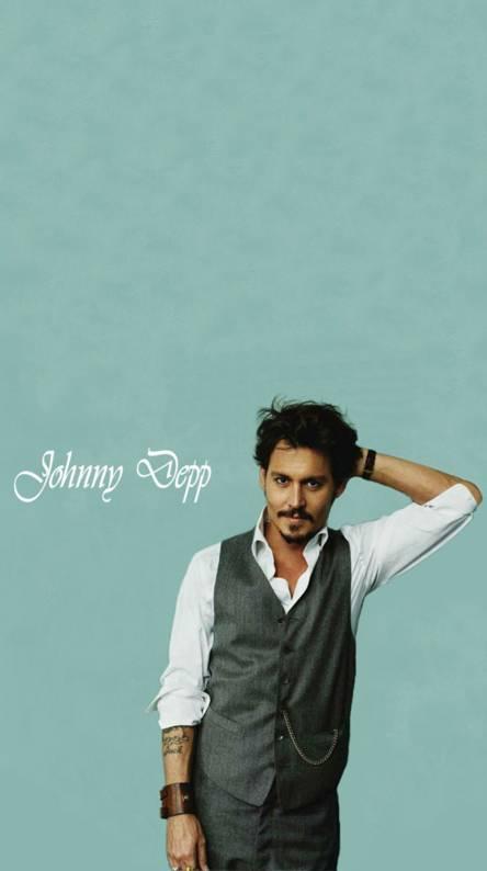 Johnny Depp -Blue-
