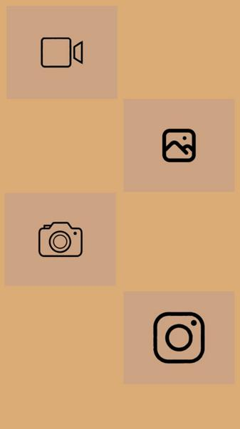 Brown icons 3