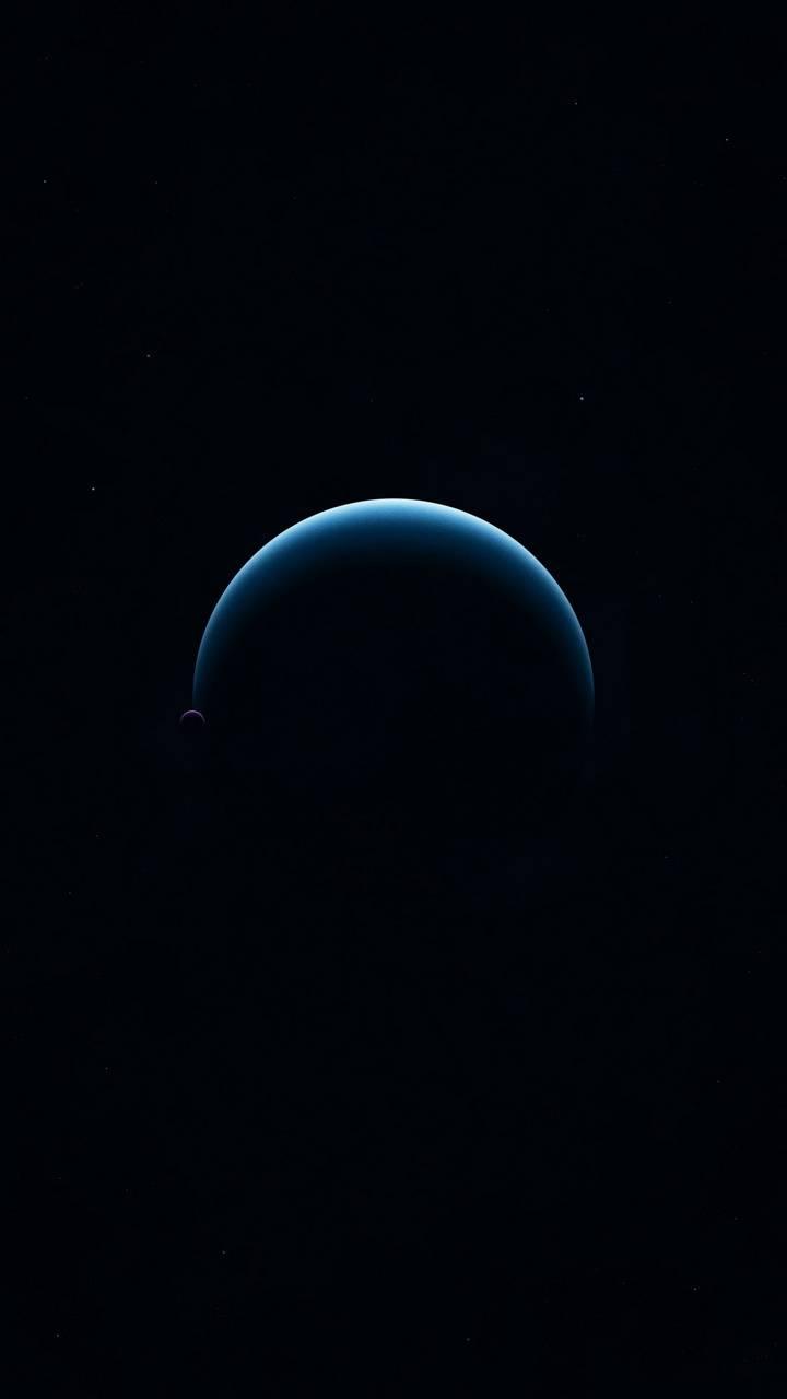 Blue planet amoled